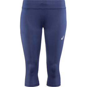 asics Silver Knee Tights Damen indigo blue